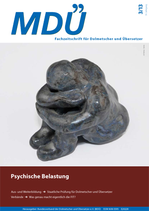 "issue 3/2013 of ""MDÜ"""